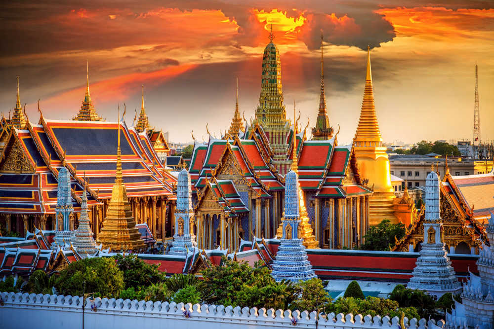Cheap flights to bangkok bkk for Best warm places to visit in november
