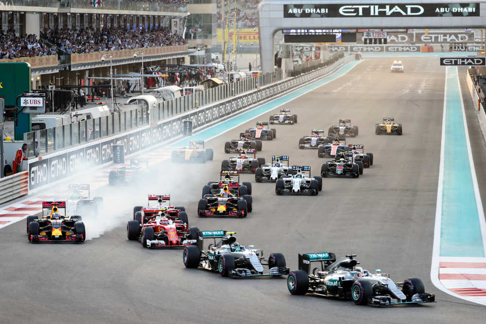 Win 2 tickets for the Formula 1 Grand Prix with Etihad Airways!