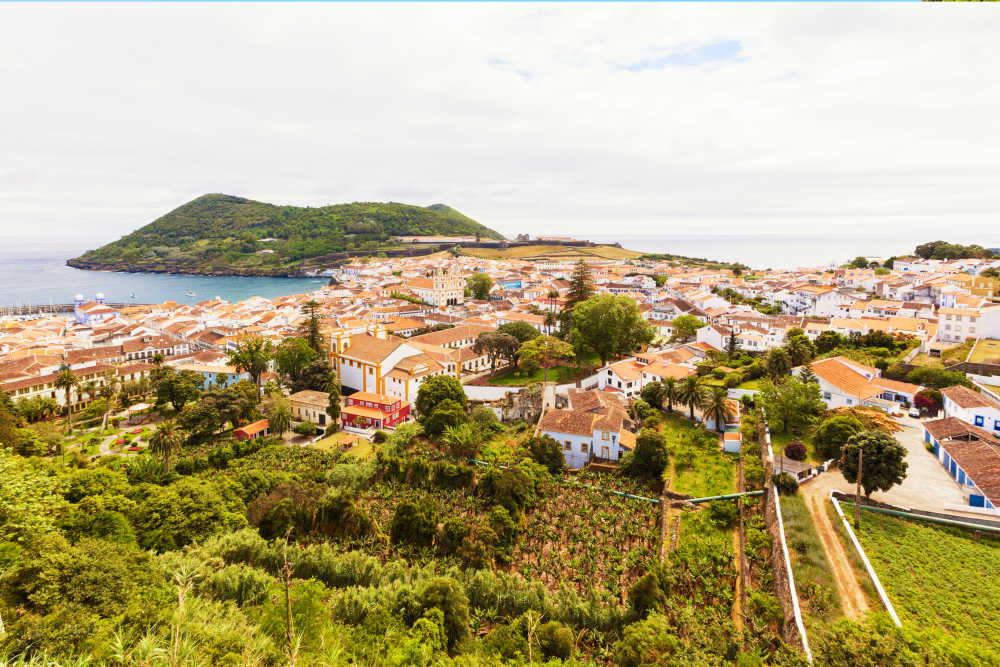 Terceira in De Azoren